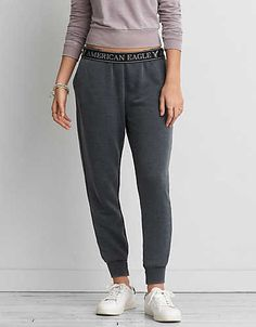 AEO Skinny Jogger, Grey   American Eagle Outfitters