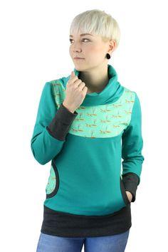 Hoodies - Pullover Fuchs - ein Designerstück von JAQUEEN-handmade-streetwear-berlin bei DaWanda