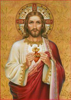 SAGRADO Y MISERICORDIOSO CORAZÓN DE JESÚS.