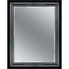 $98.38 Deco Mirror Grand Piano 28.5 in. x 34.5 in. Mirror in Black-8873 at The Home Depot