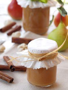 Fahéjas körtedzsem - DESSZERT SZOBA Marmalade, Preserves, Pickles, Food And Drink, Cooking Recipes, Sweets, Canning, Ketchup, Foods