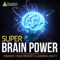 Super Brain Power helps increase memory capacity by stimulating learning centres in the brain.   Try a sample!  http://www.binauralbeatsmeditation.com/product/super-brain-power/