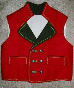 Bunad vest, Hardanger, for a little boy. Made by Lill Venke Hustvedt