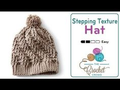 Learn how to crochet a Stepping Texture Crochet Hat. This hat is easy to make in about 2 - 3 hours, depending on your speed and how fast you caught onto the ...                                                                                                                                                                                 More