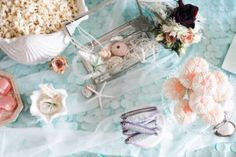 Treasure trove from a Majestic Under the Sea Birthday Party on Kara's Party Ideas | KarasPartyIdeas.com (27)