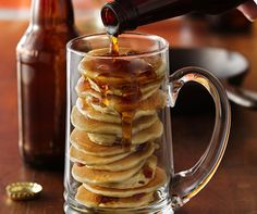 beer and bacon mancakes more beer recipe bacon pancake food breakfast ...