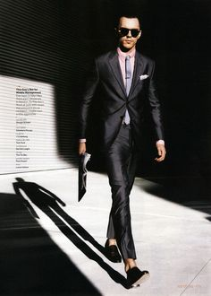 MyFDB - GQ Editorial The New Power Suit, March 2013 Shot