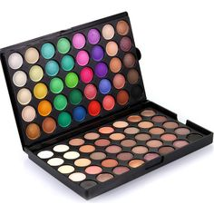 Hot Fashion 80 Colors Matte Luminous 2 in 1Eyeshadow Palette Cosmetic Glitter  Shimmer Nude  Makeup Eye Shadow Colorful