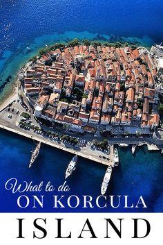 Things to do on Korcula Island Croatia. Travel Croatia like a local http://www.chasingthedonkey.com/exploring-korcula/