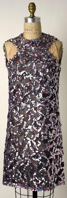 Geoffrey Beene Nylon Evening dress, 1968