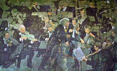 La morte e la fanciulla (Simon Rattle) cm 220x130