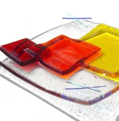 1000 images about fused glass tile on pinterest fused glass fused glass art and fused glass - Smashing glass coasters ...