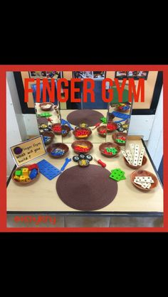 When I returned to I decided I wanted a permanent area for fun, fine motor control activities. I looked on line for ideas and set one up. As you scroll through the photos you'll see how i… Motor Skills Activities, Gross Motor Skills, Preschool Activities, Nursery Activities, Preschool Age, Preschool Learning, Finger Fun, Finger Plays, Reception Class