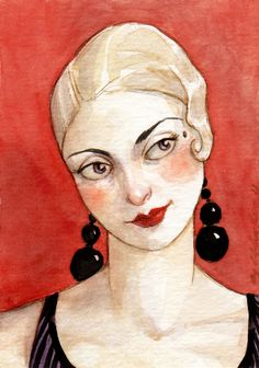 I Hope You Stay -- ACEO Limited Edition Print by Amy Abshier Reyes 9/50