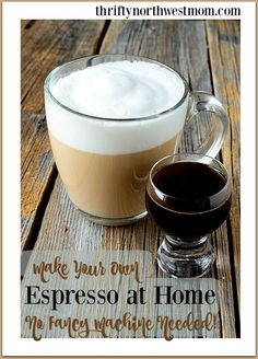 espresso blend espresso machine foam hazelnut