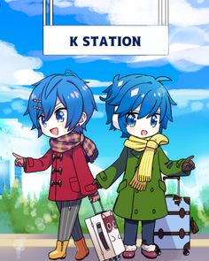 Creds @yosiki59 on Twitter   KAITO Vocaloid Kaito, Kaito Shion, Singing, The Past, Cute, Manga Art, Fictional Characters, Friends, Music