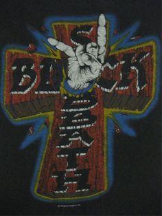 BLACK SABBATH vintage 1981 tour SHIRT
