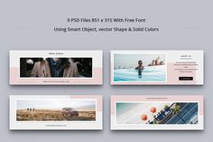 Facebook Cover Vol. 10 #Cover, #Facebook, #Vol Pink Instagram, Free Instagram, Instagram Posts, Facebook Instagram, Typography Images, Image Font, Instagram Post Template, Web Design Tutorials, Media Kit