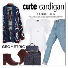 """cute cardi"" by maria-maldonado ❤ liked on Polyvore featuring Topshop, TOMS, Vera Bradley, Michael Kors and mycardi"