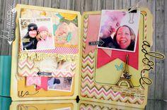#kimjeffress ROCKED her #memoryfileslive chapter one #heidiswapp project. LOVE!