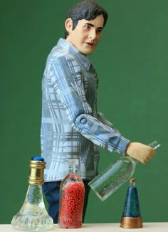 Simple Ways to Make Casting Molds For Scale Miniature and Dollhouse Bottles ... interesting article on casting, molds, etc