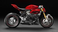 Wouldn't it be great if Ducati made this Panigale Streetfighter cocnept?