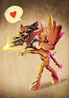 #iamgroot #grocket Guardians of the Galaxy