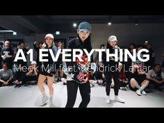 A1 Everything - Meek Mill Ft. Kendrick Lamar / Sori Na Choreography - YouTube