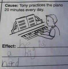 Hilarious smart ass kids test answers! #funny #lol