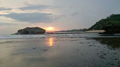 Beautiful sunset, Indonesia