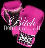 Luvin my kickboxing class!
