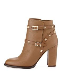 Shop Valentino shoes, boots, and sandals at Neiman Marcus. Update your wardrobe with Valentino's iconic style and signature Rockstud collection. Leather High Heel Boots, Chunky Heel Ankle Boots, Slip On Boots, Leather Ankle Boots, Heeled Boots, Bootie Boots, Shoe Boots, Ankle Booties, Valentino Garavani Shoes