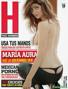 Maria Aura Revista H Enero 2015 [PDF Digital] | FamosasMex