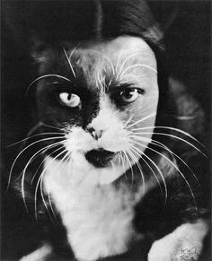 """Wanda Wulz – """"Me + Cat"""" (1932)"""