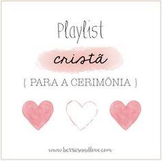 playlist cristã para casamento