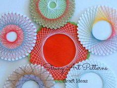 Spirelli String Art Patterns