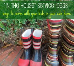 Pennies of Time: In the House Service Ideas