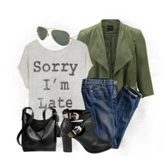 I would need one of these shirts for pretty much any occasion. Lol notoriously late. Casual Outfit