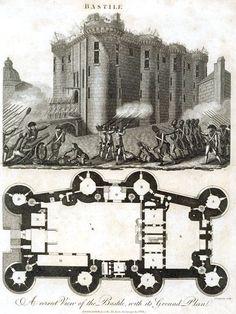 Bastille ground floor plan