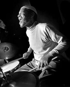 Billy Higgins - jazz drummer and unstoppable spreader of joy.