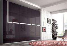 Armario con detalle en blanco estilo moderno Divider, Mirror, Room, Furniture, Home Decor, Ideas, Home, Perfect Wardrobe, Closets