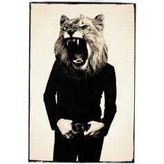 Fab.com | Lion Roar 12x18