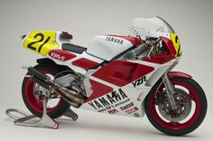 YAMAHA YZR500 (0W98) 1988 Hasegawa 1:12+Third party Decal