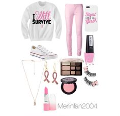 Breast Cancer Outfit