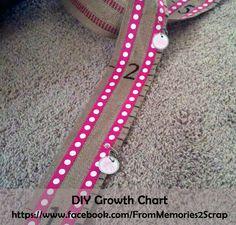 DIY Growth Chart -- Less than $10!