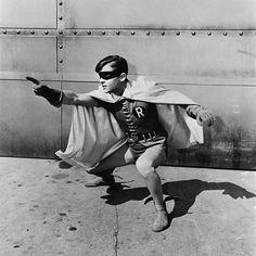 Robin aka Dick Grayson played by Burt Ward