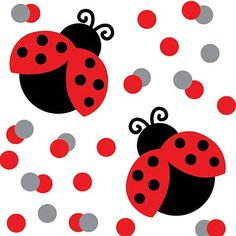 Ladybug Fancy Confetti Party Accessory - Listing price: $2.00 Now: $1.19