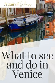 A guide to what to see and do in Venice for months but life got in the way. Venice is a wonderful city with lots to see and do. Venice Travel Guide, Europe Travel Guide, Italy Travel, Venice Things To Do, Things To Do In Italy, Calabria Italy, Sardinia Italy, Venice Tourist Attractions, Travel Around Europe