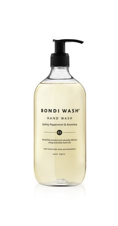 Bondi wash hand soap -Available from www.thefoxesden.co.nz