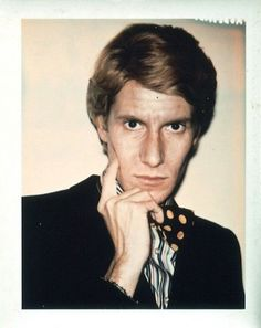 polaroid image   Yves Saint Laurent by Andy Warhol